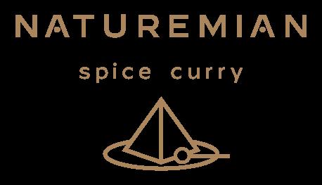 naturemian spice curry ナチュレミアンスパイスカレー ロゴ